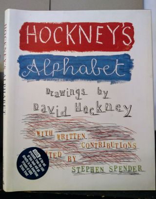 HOCKNEY'S ALPHABET. David Hockney, Stephen Spender