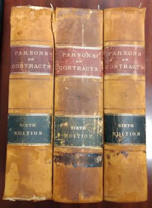 Law of Contracts (3 volumes). Theophilus Parsons