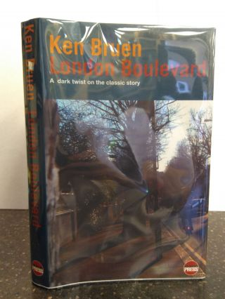 LONDON BOULEVARD [SIGNED]. Ken Bruen