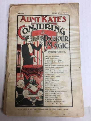 Aunt Kate's Conjuring & Parlour Magic