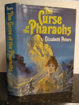 THE CURSE OF THE PHARAOHS [INSCRIBED]. Elizabeth Peters