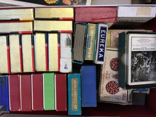 5 boxes of vintage playing cards