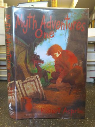 MYTH ADVENTURES ONE [SIGNED by Asprin]. Robert Asprin, Daniel R. Horne