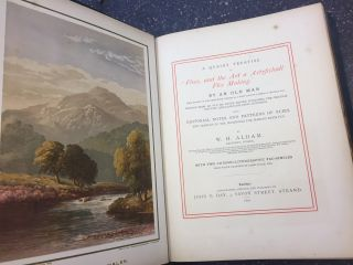 """A QUAINT TREATISE ON """"FLEES, AND THE ART OF ARTYFICHALL FLEE MAKING"""" BY AN OLD MAN WELL KNOWN ON THE DERBYSHIRE STREAMS AS A FIRST-CLASS FLY-FISHER A CENTURY AGO"""