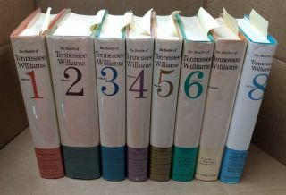 The Theatre of Tennessee Williams [8 volumes]. Tennessee Williams