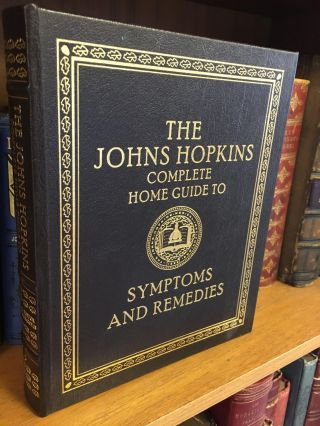 THE JOHN HOPKINS COMPLETE HOME GUIDE TO SYMPTOMS & REMEDIES. Simeon Margolis, medical