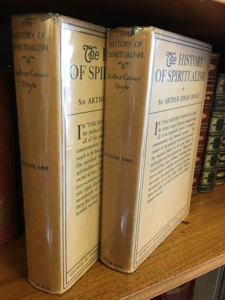 THE HISTORY OF SPIRITUALISM [TWO VOLUMES]. Arthur Conan Doyle
