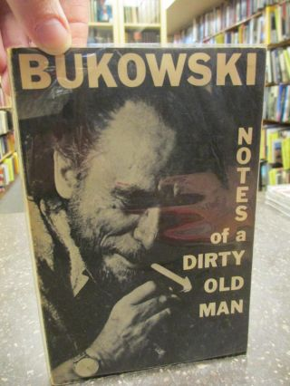 NOTE OF A DIRTY OLD MAN [SIGNED]. Charles Bukowski