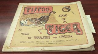 Tippoo: A Tale of A Tiger. W. Ralston, C. W. Cole, as