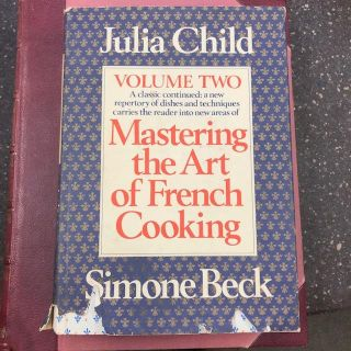 MASTERING THE ART OF FRENCH COOKING [VOLUME TWO ONLY] [SIGNED]. Julia Child