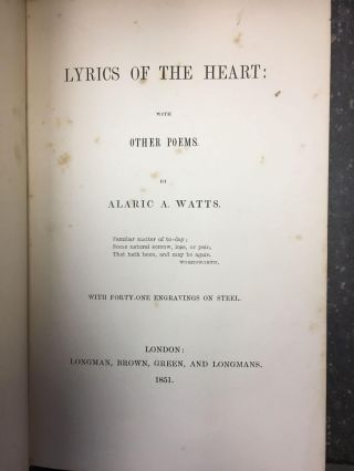 LYRICS OF THE HEART WITH OTHER POEMS