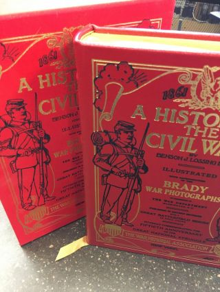 A HISTORY OF THE CIVIL WAR. Benson J. Lossing