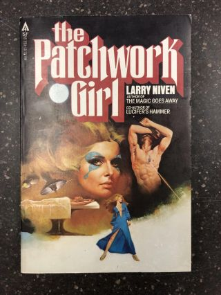 THE PATCHWORK GIRL [SIGNED]. Larry Niven, Fernando Fernadez