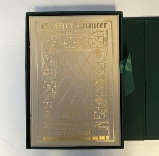 KELMSCOTT PRESS'S THE WORKS OF GEOFFREY CHAUCER. Chaucer Chaucer, Edward Burne-Jones, William Morris
