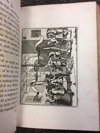 [KELLIEGRAM BINDING] GRAPHIC ILLUSTRATIONS OF HOGARTH, FROM PICTURES, DRAWINGS, AND SCARCE PRINTS