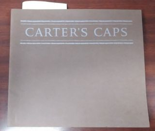 CARTER'S CAPS : AN ALPHABET OF CAPITAL LETTERS CUT BY WILL CARTER AND PRINTED FROM THE WOOD, WITH...