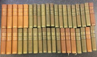 THE WORKS OF WASHINGTON IRVING [FORTY VOLUMES]. Washington Irving