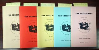 The Sherlockian [A Quarterly Journal], vol1 #1 through vol1 $4 and vol2 #1. Kelvin I. Jones