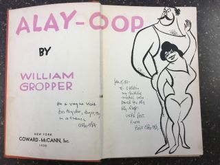 ALAY-OOP [SIGNED]. William Gropper