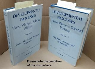Developmental Processes: Heinz Werner's Selected Writings [2 volumes]. Sybil S. Barten, Margery...