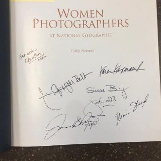 WOMAN PHOTOGRAPHERS AT NATIONAL GEOGRAPHIC [SIGNED]