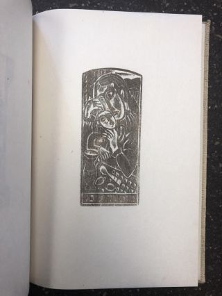 WOODCUTS BY MAX WEBER [SIGNED]