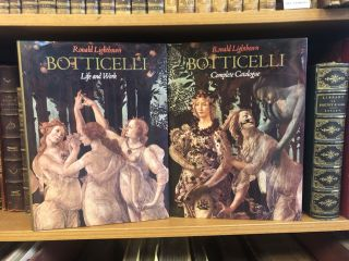 SANDRO BOTTICELLI [2 VOLUMES]. Ronald Lightbown