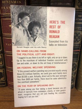 WHERE'S THE REST OF ME? THE RONALD REAGAN STORY [SIGNED]
