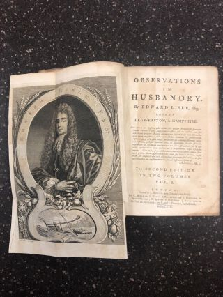 OBSERVATIONS IN HUSBANDRY [TWO VOLUMES]. Edward Lisle