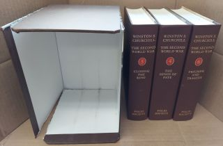 The Second World War [3 volumes, #4-6]. Winston S. Churchill
