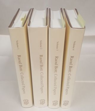 Raoul Bott: Collected Papers [Volumes 1-4]. Raoul Bott, Robert D. MacPherson