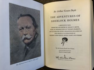 THE ADVENTURES OF SHERLOCK HOLMES. Sir Arthur Conan Doyle