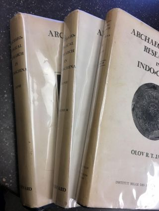 ARCHAEOLOGICAL RESEARCH IN INDO-CHINA [THREE VOLUMES]