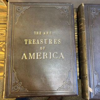 THE ART TREASURES OF AMERICA [2 VOLUMES]. Edward Strahan