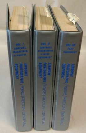 Airborne Photographic Equipment: Recon Central [3 volumes