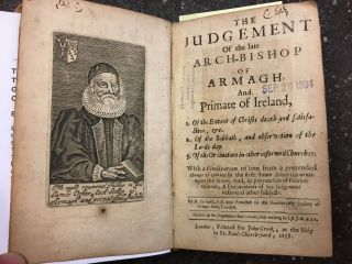 THE JUDGEMENT OF THE LATE ARCH-BISHOP OF ARMAGH, AND PRIMATE OF IRELAND [BOUND TOGETHER WITH] THE...