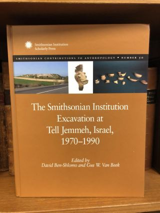 SMITHSONIAN CONTRIBUTIONS TO ANTHROPOLOGY - NUMBER 50: THE SMITHSONIAN INSTITUTION EXCAVATION AT...