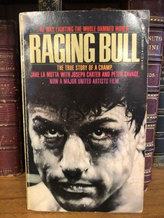 RAGING BULL [SIGNED]. Jake La Motta, Joseph Carter, Peter Savage