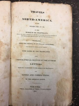 TRAVELS IN NORTH-AMERICA, IN THE YEARS 1780-81-82