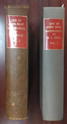 Life of Brant -Thayendanegea : Including the Indian Wars of the American Revolution [2 vol.Set]....