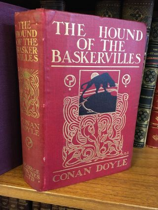 THE HOUND OF THE BASKERVILLES. A. Conan Doyle, Sidney Paget