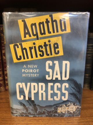 SAD CYPRESS. Agatha Christie