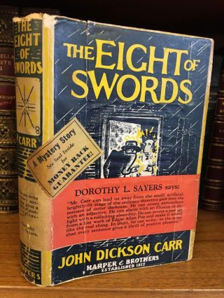 THE EIGHT OF SWORDS. John Dickson Carr