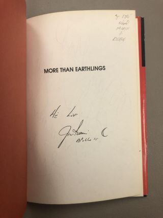 MORE THAN EARTHLINGS [SIGNED]