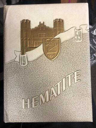 HEMATITE: HIBBING HIGH SCHOOL YEARBOOK 1959 [With Photo of Robert Zimmerman/Bob Dylan