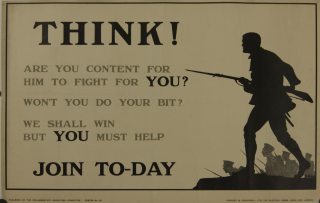 Think! Recruiting Poster