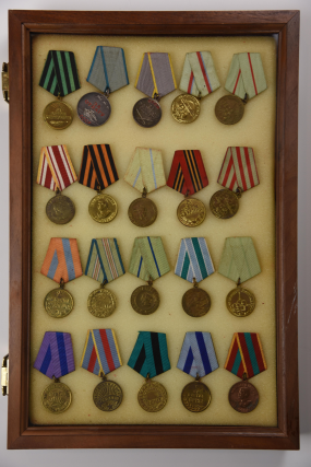 20 Russian WWII Medals