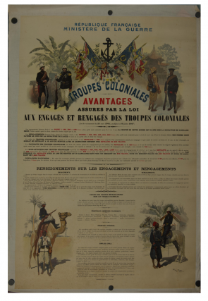 Troupes Coloniales Poster