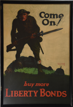 Come On! Buy More Liberty Bonds Poster