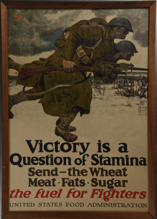 Victory Is a Question of Stamina Poster